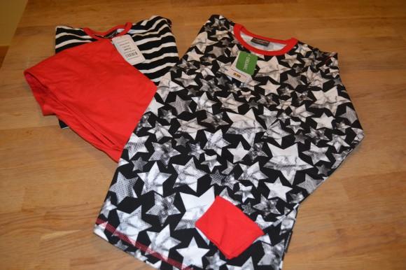 pyjamas och tröja black star