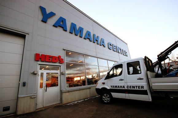 yamaha center luleå