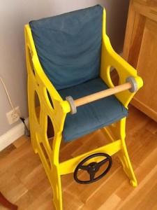 barnstol som kan bli bil | EN MÖLNBOBOS LIV